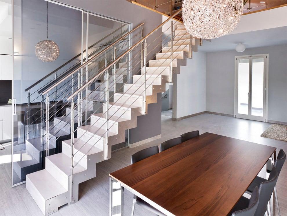 Moderne Treppen Treppenarten