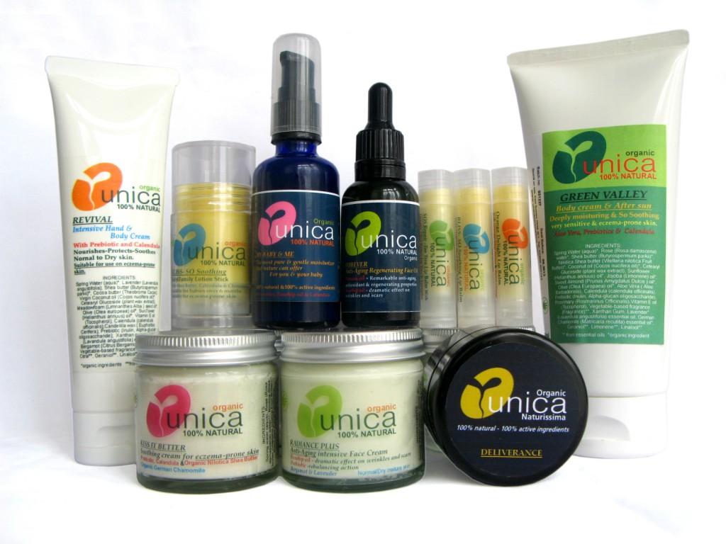 Bio Kosmetik für Körper und Gesicht