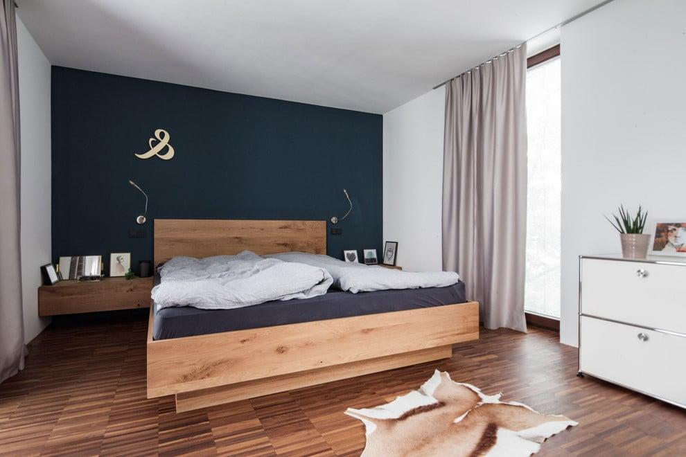 Schlafzimmer Türkis