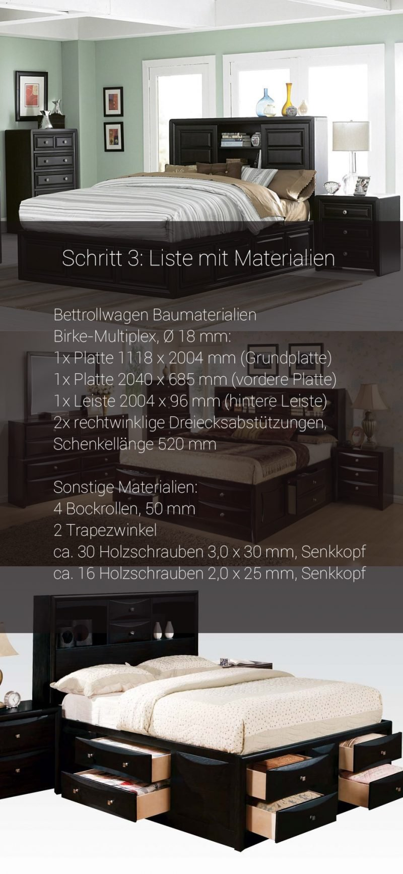podestbett bauen alles ber wohndesign und m belideen. Black Bedroom Furniture Sets. Home Design Ideas
