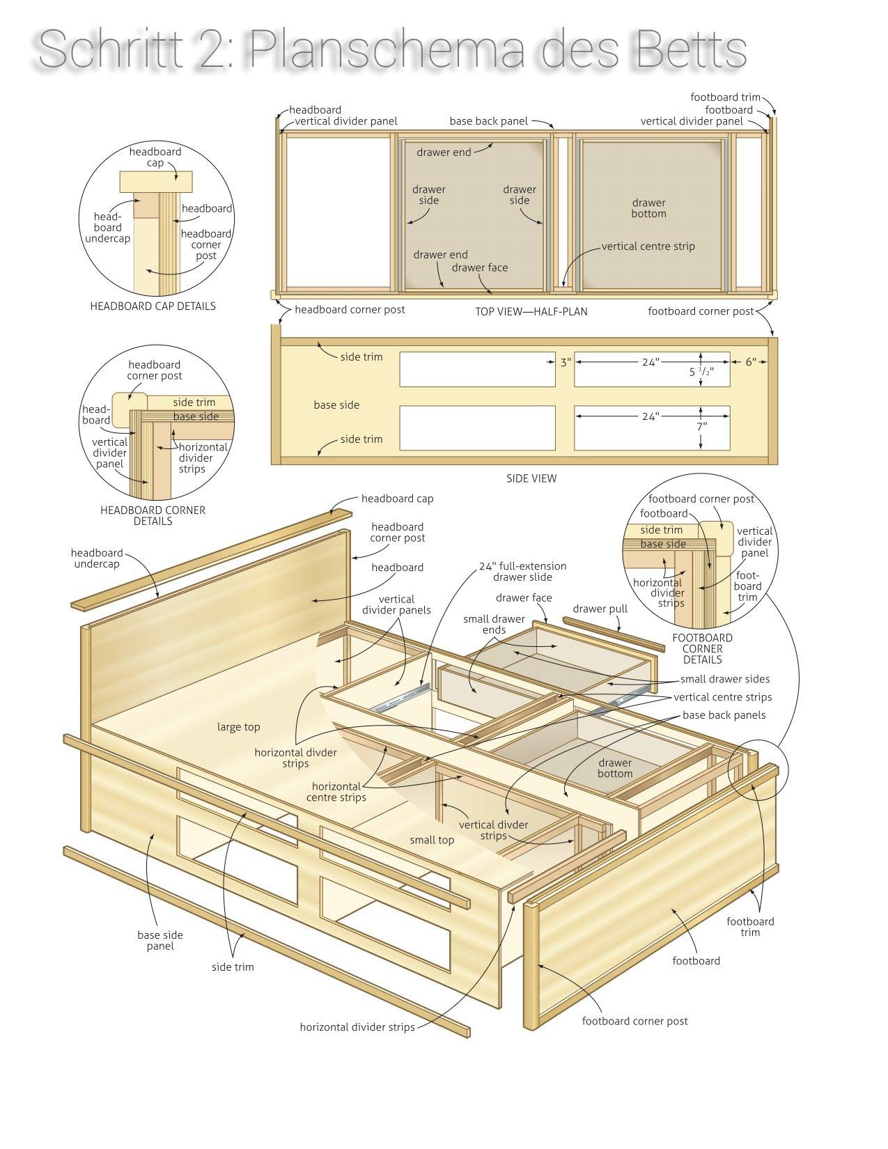 Plan Für Podestbett Bauen