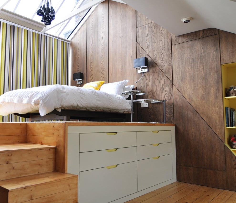 Modern Look Podestbett Bauen