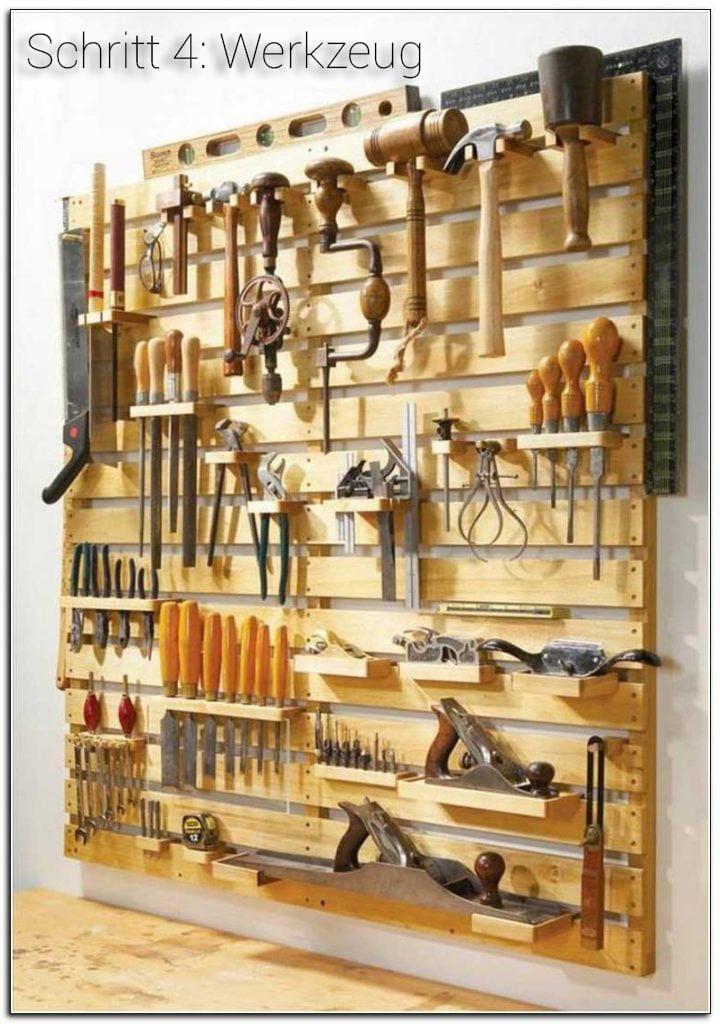 Notwendige Werkzeuge für Podestbett Bauen