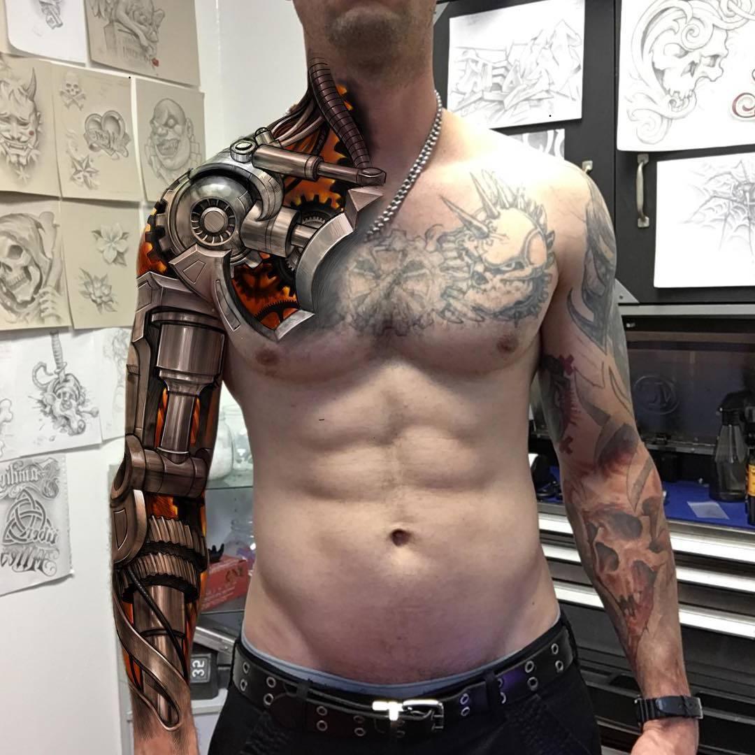 Roboter Arm - perfekte Ausführung