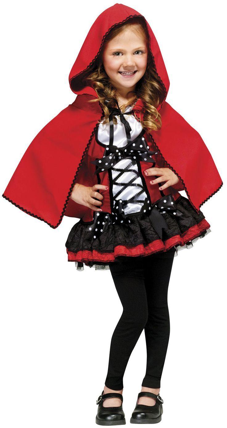 Das Rotkäpchen - ein Klassiker bei Halloweenkostüms