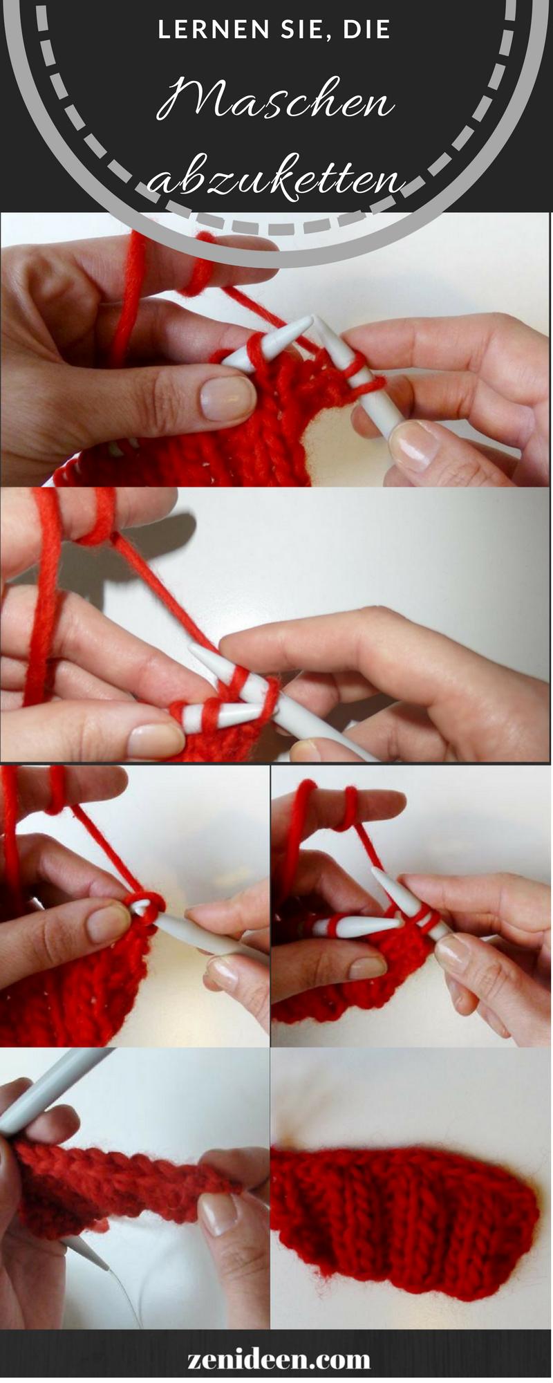Wie können Sie moderne Schals stricken?