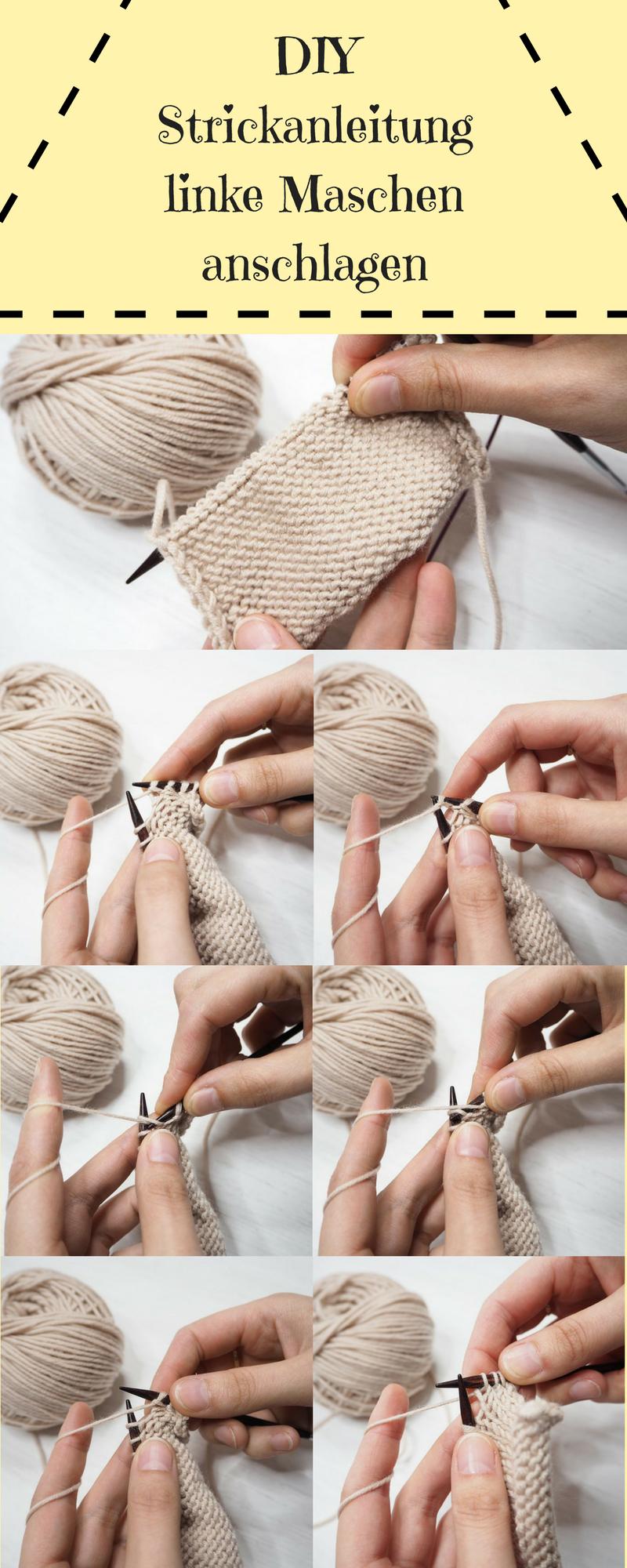 DIY: einen Schal näkeln