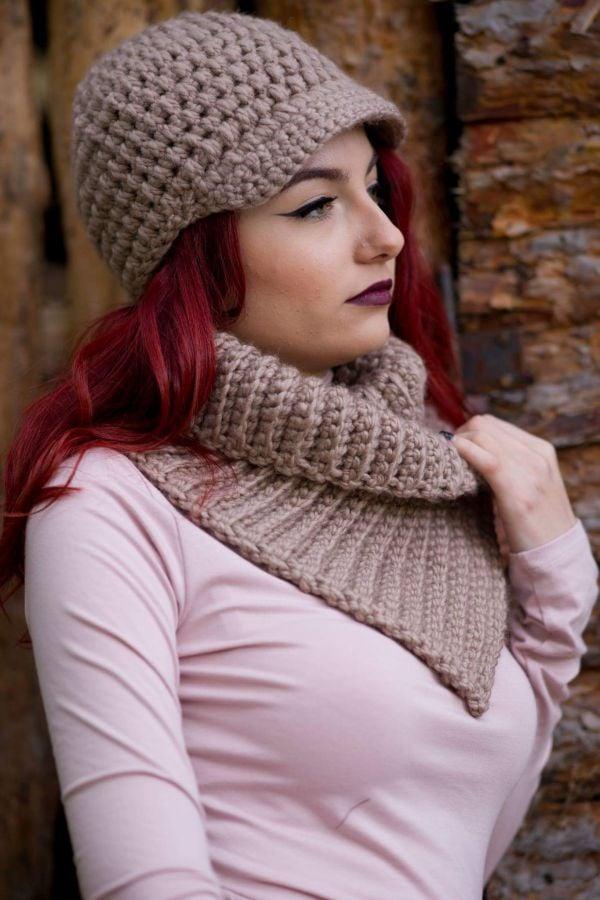 Modischer Schal kann man selbst stricken! Lesen Sie hier!
