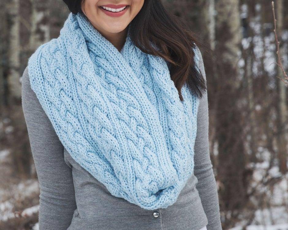 Ready for Winter? Stricken Sie einen XXL Schal zu Hause!
