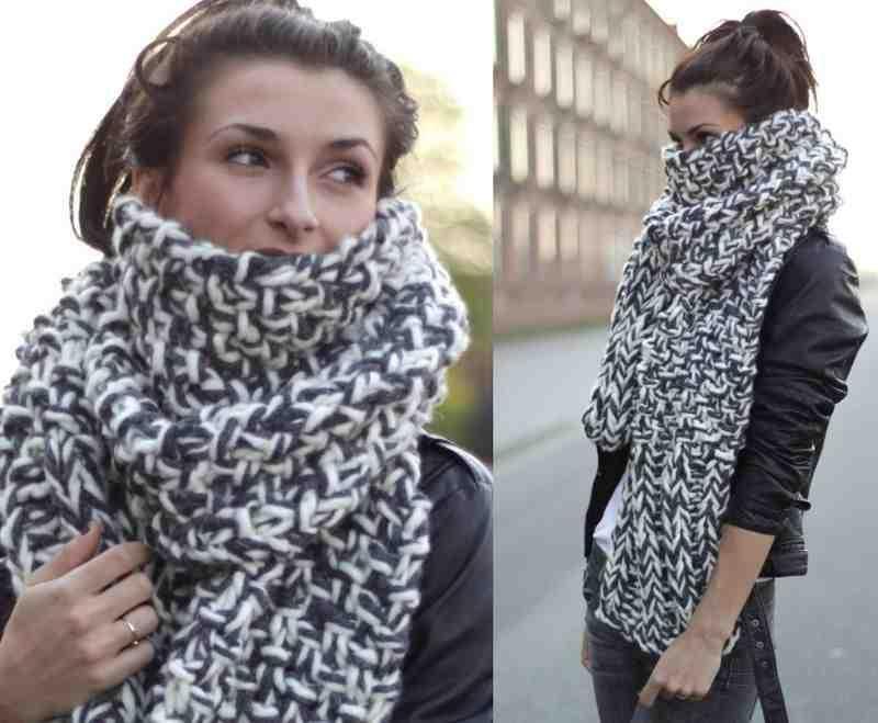 Möchten Sie einen wunderschönen Schal wie diesen haben? Lesen Sie hier!