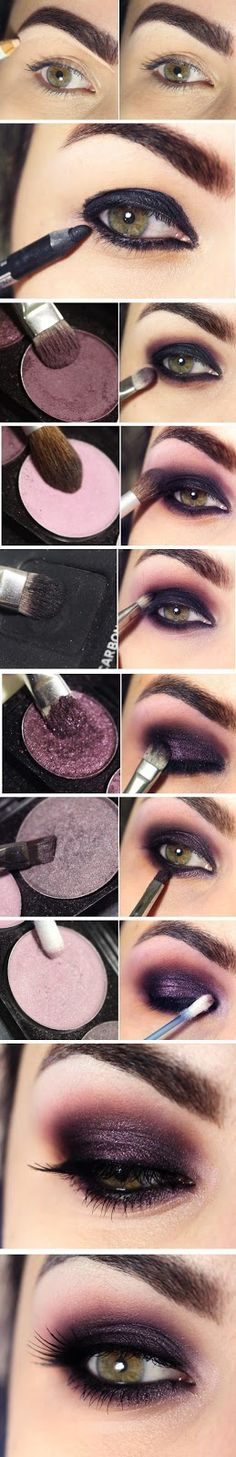 DIY Smokey Eyes Look