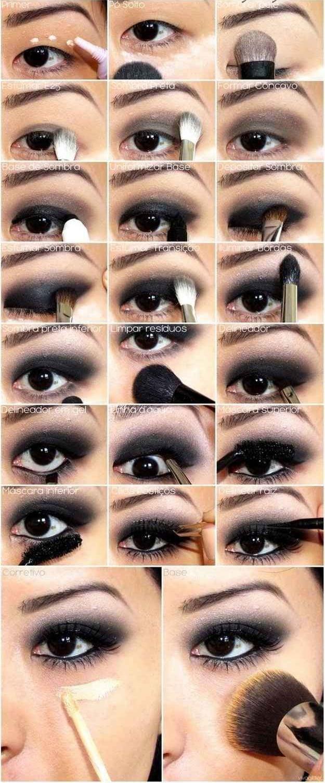 Eine Augen Make up Anleitung