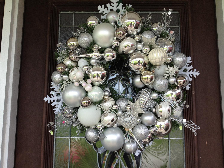 eine silberne Weihnachtliche Magie