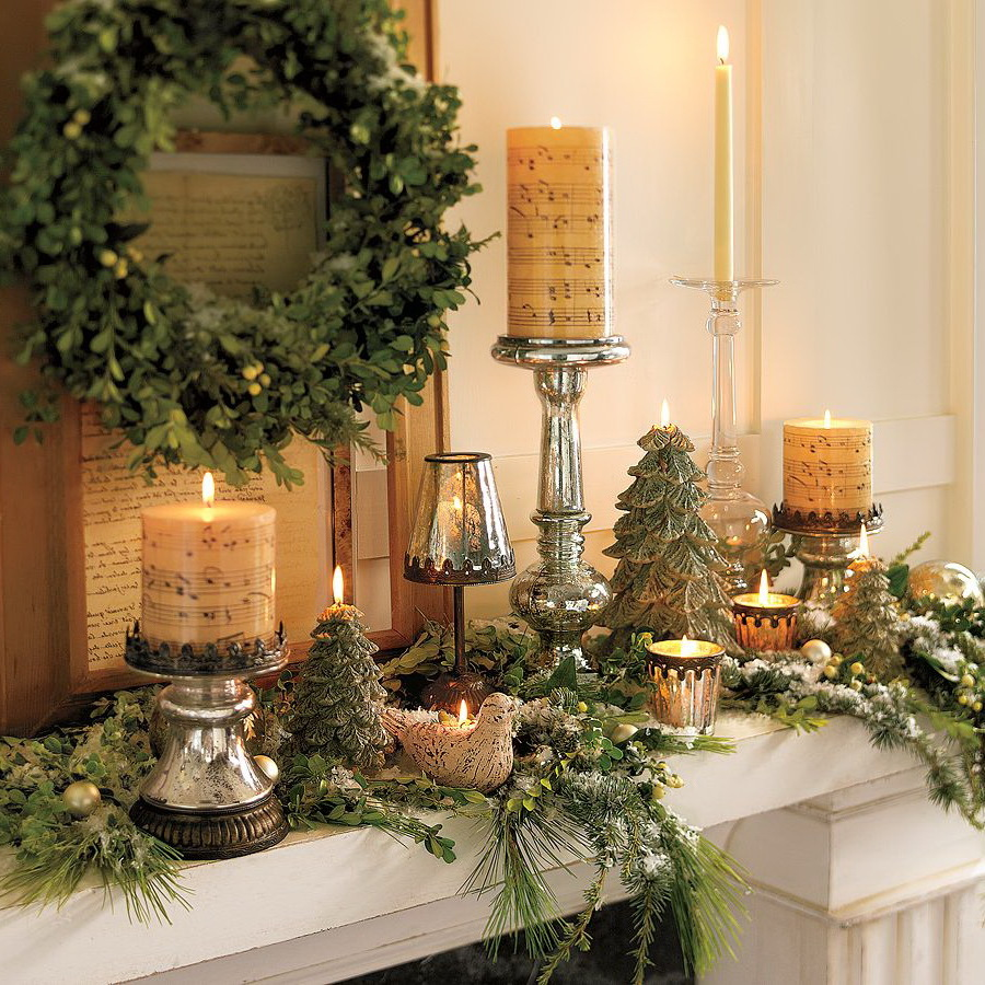 Weihnachtliche Dekoration für mehr Behaglichkeit zu Hause