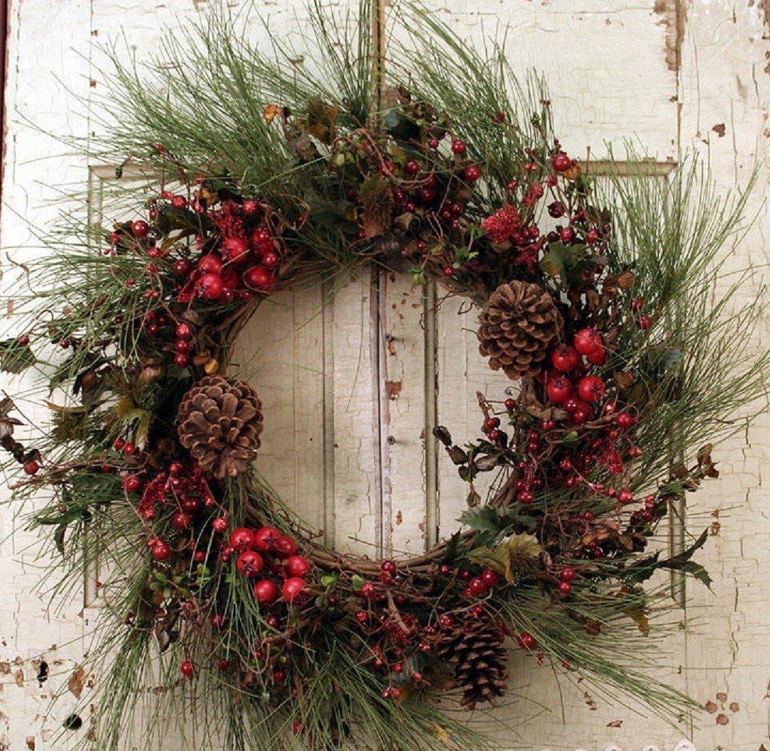 türkranz weihnachten-Das fest klopft an der Tür
