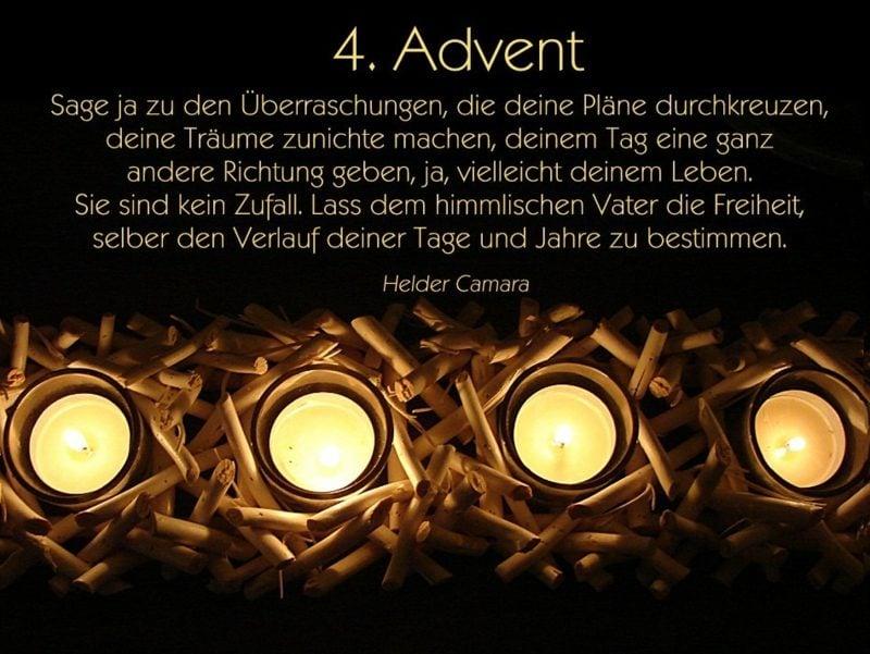 tolle Adventssprüche zum vierten Advent