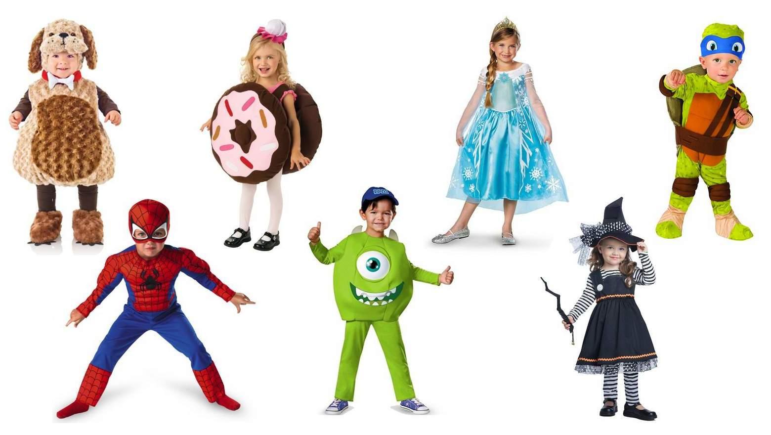 Tolle Kinder Kostüme für Halloween