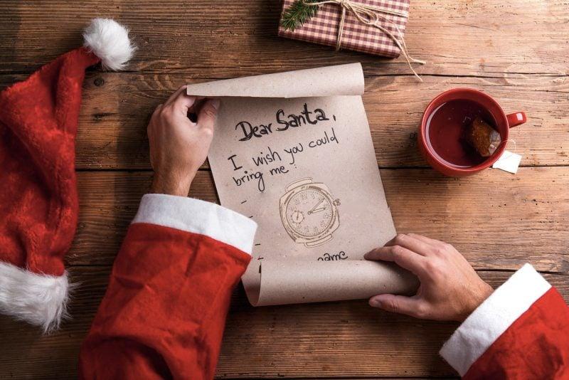 Was soll ich mir zu Weihnachten wünschen - Wünschen im materiellsten Sinne