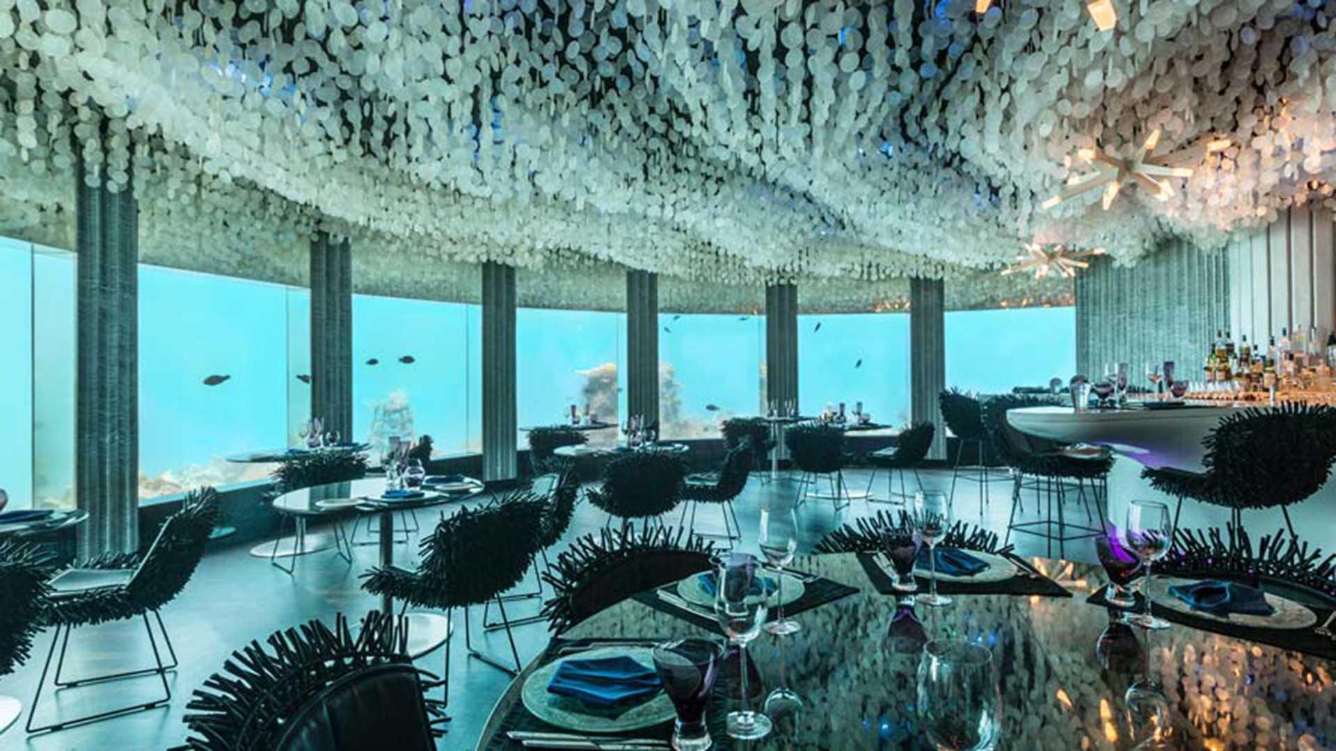 Under Water Restaurant - die originelle Geschenke