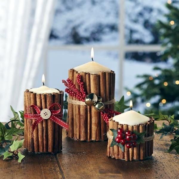 Wehnachtsgeschenke selber machen - DIY Kerzen