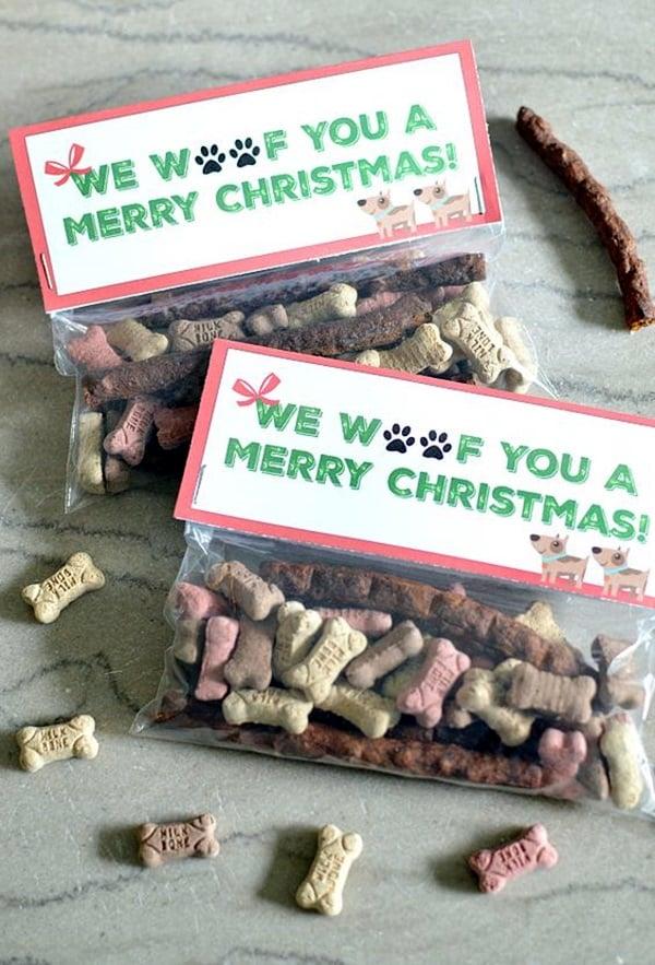 Basteln Weihnachten - Geschenk für den Hund