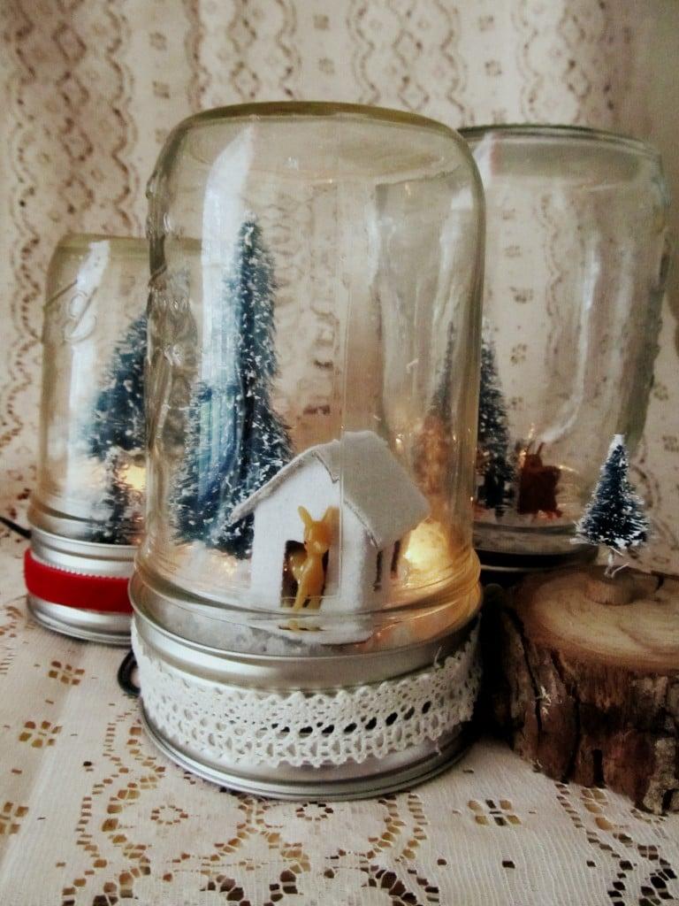 Weihnachtsgeschenke selbst gemacht - Weihnachtsgeschenk im Glas