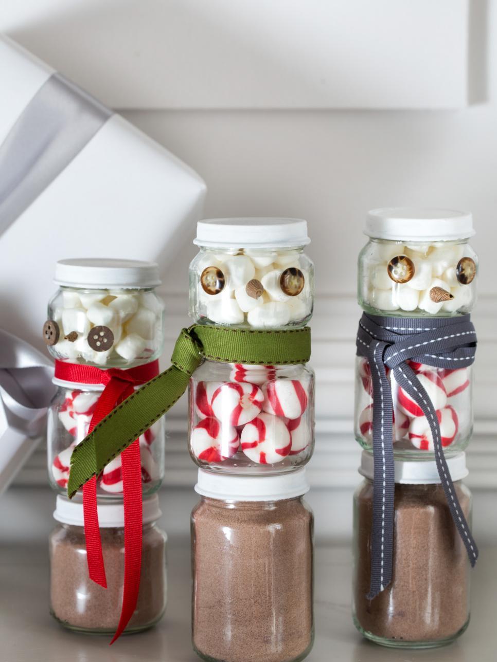 Geschenke aus der Küche - Heisse Schokolade im Glas