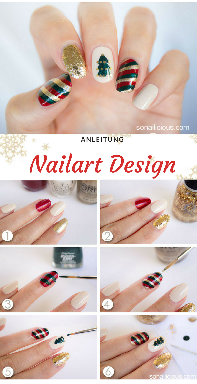 Nageldesign Winter Ideen
