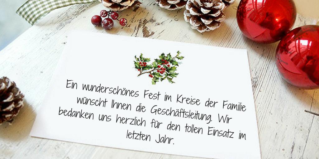 Ideen für schöne Weihnachtssprüche