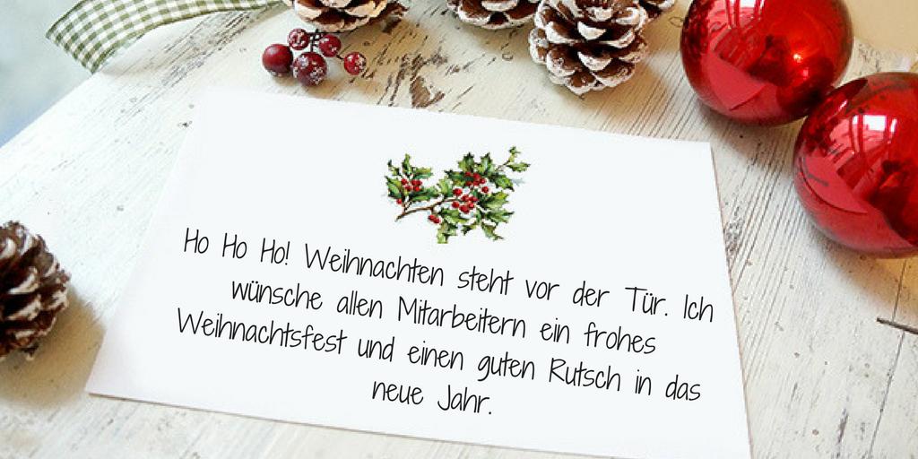 Weihnachtssprüche kurz schreiben