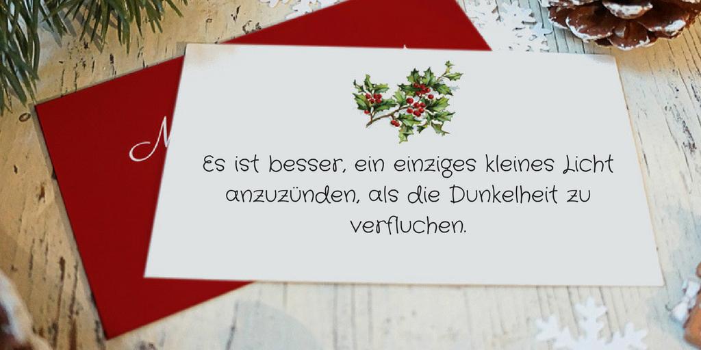 Ideen für Weihnachtssprüche