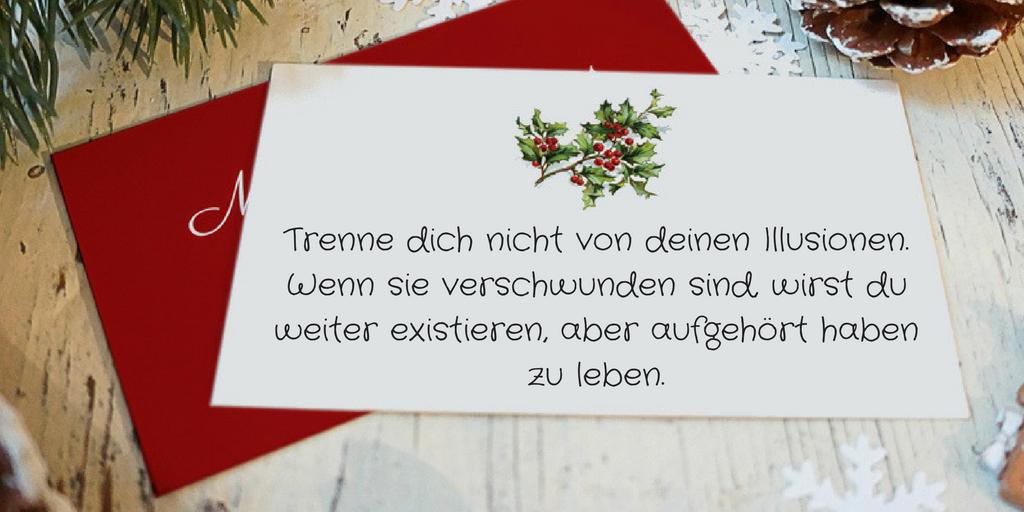 Ideen für Weihnachtssprüche kurz selber zu schreiben