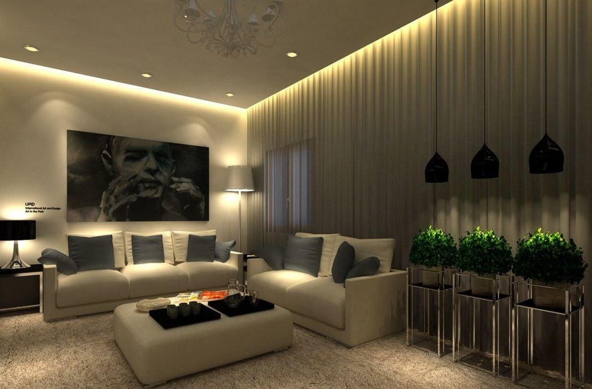 Indirekte beleuchtung ein neues wohlgef hl zu hause - Indirekte deckenbeleuchtung wohnzimmer ...