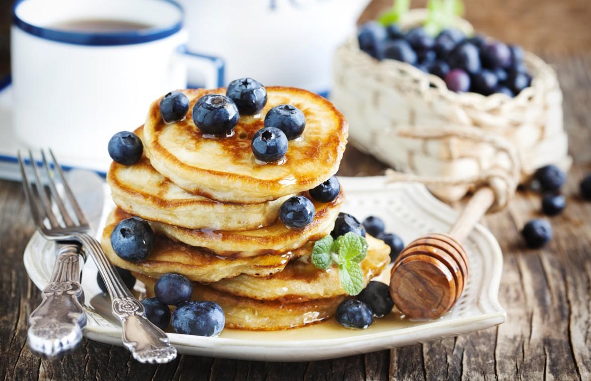 Gesunde Pancakes - lecker abnehmen