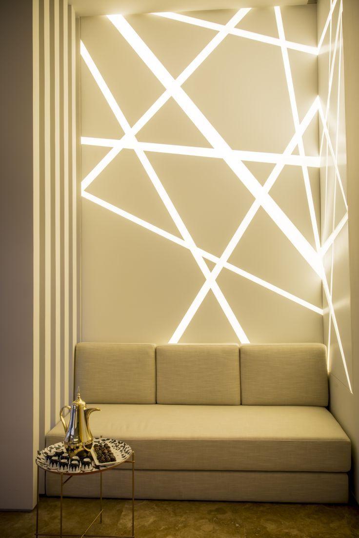 Coole Wandbeleuchtung - setzt Lichtakzente im Raum