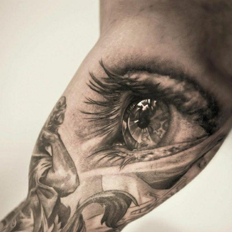 3d Tattoos Auge herrlicher Look