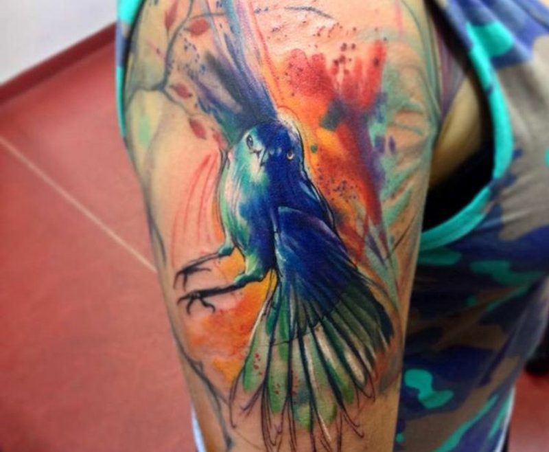 Tattoo Vorlagen Männer Aquarell Tattoo