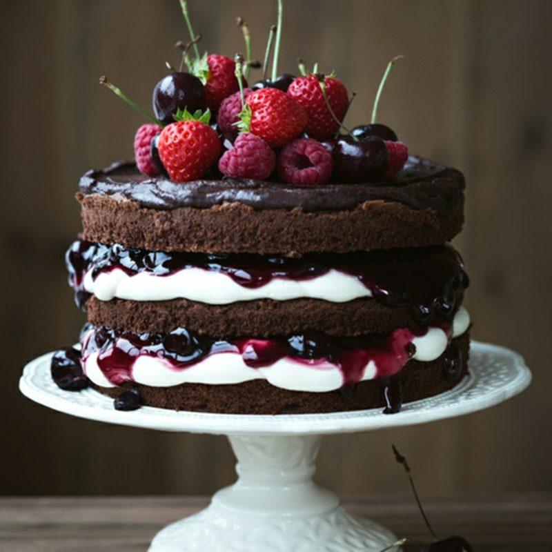 Naked Cake backen Rezepte