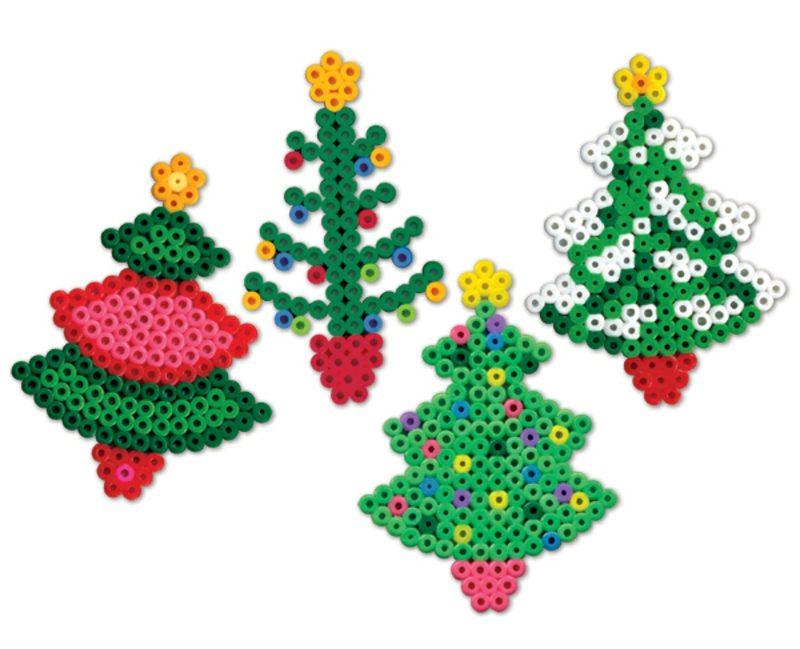 Bügelperlen Vorlagen Weihnachten Weihnachtsbaum