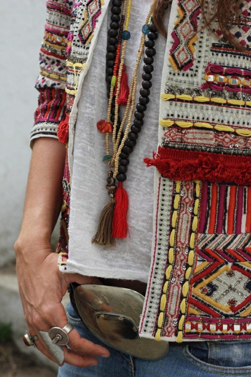 Boho Style moderne Accessoires Ethno Muster