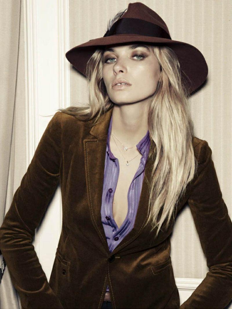 Hippie Look zum Nachstylen Fedora Hut Blazer Hemd