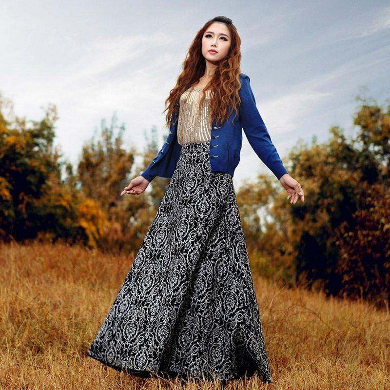 Hippie Style Winter Herbst angesagte Looks
