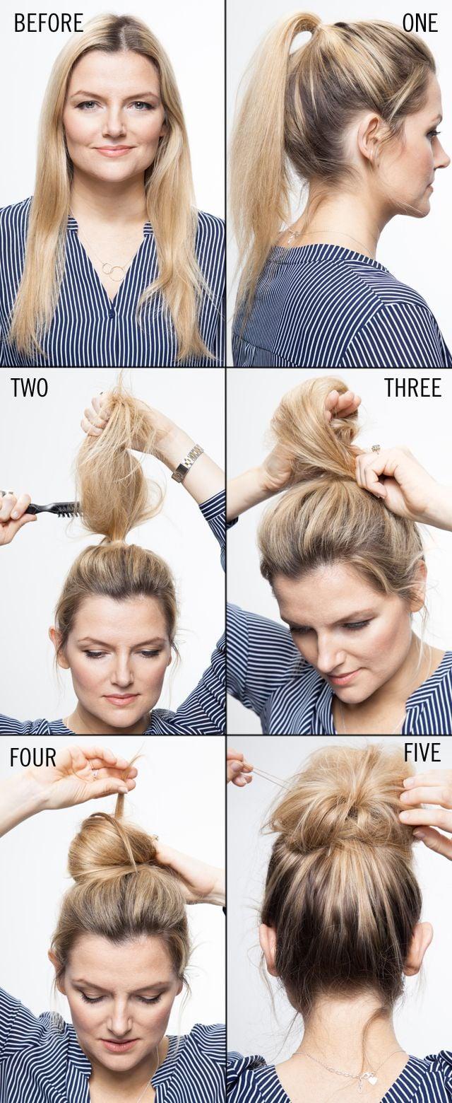 Schnelle Frisur für feines Haar zum nachmachen