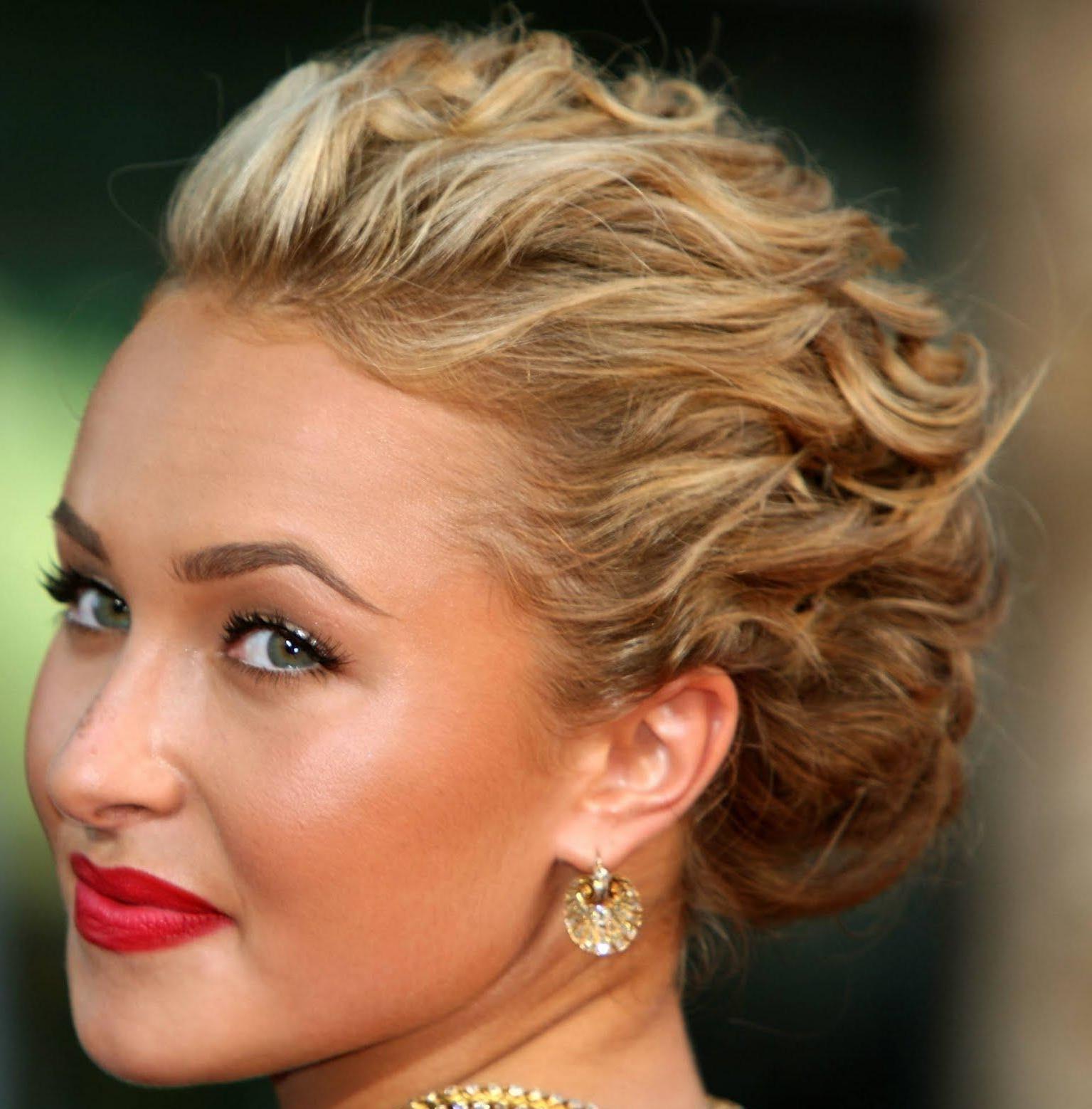 Glamouröse Rote-Teppich Frisur