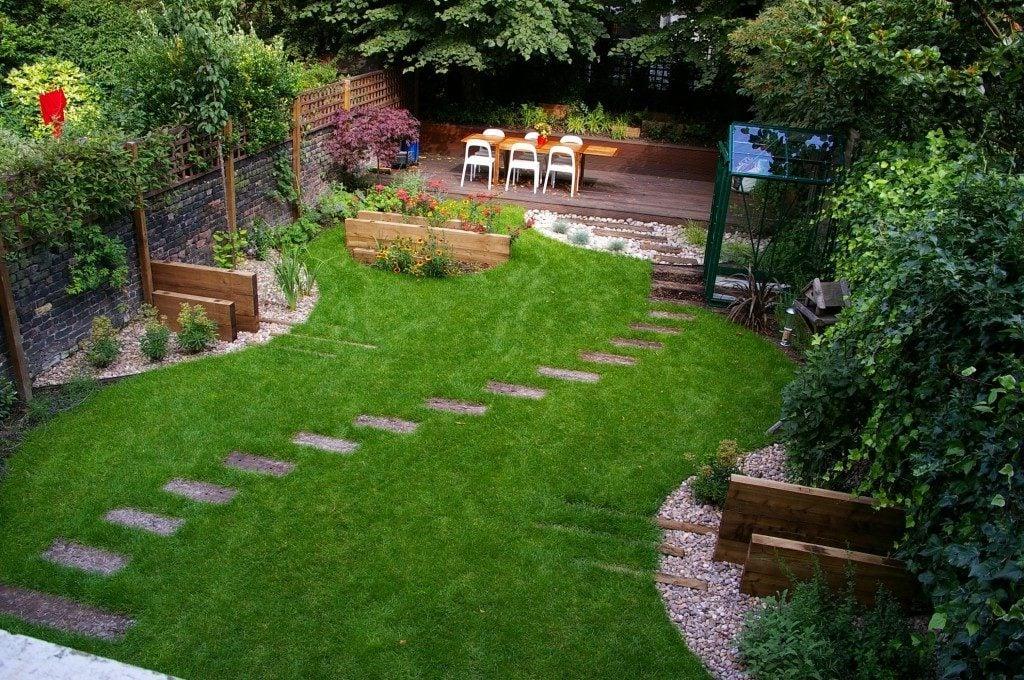 Gartengestaltung - mein Haus, meinen Garten, meine Ruhe