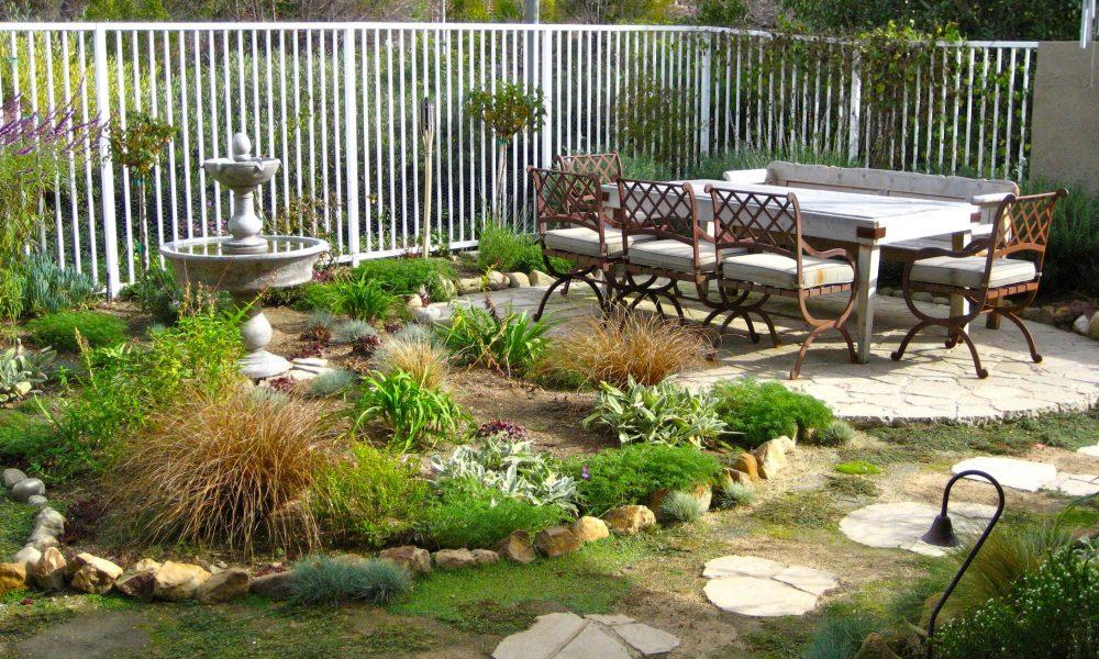 Gartengestaltung zum einheitlichen Gesamtbild