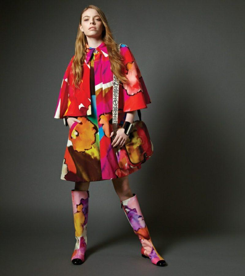 Boho Style Hippie Look zum Nachstylen bunt Stiefel