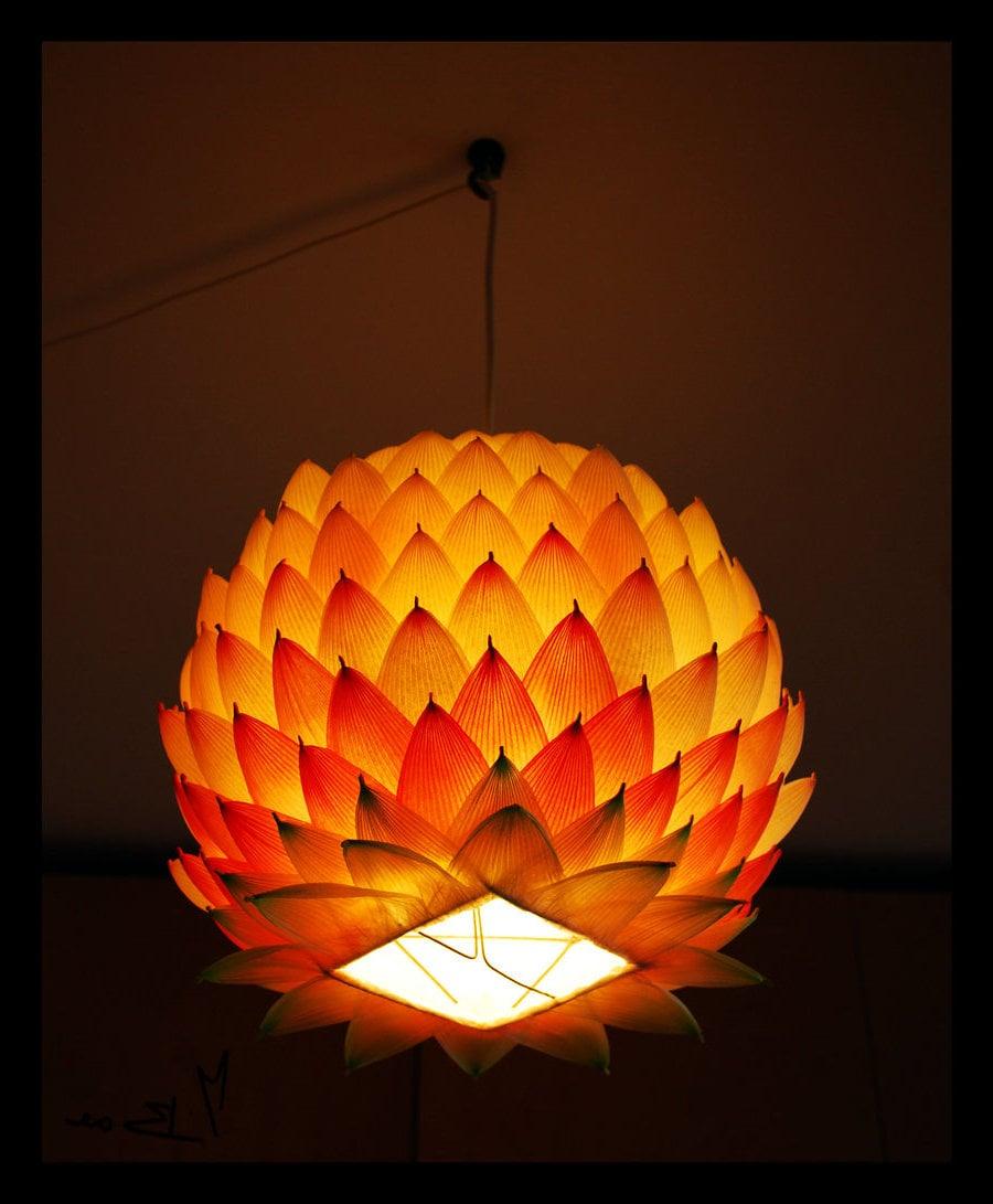 Lampions basteln mit Dekopapier