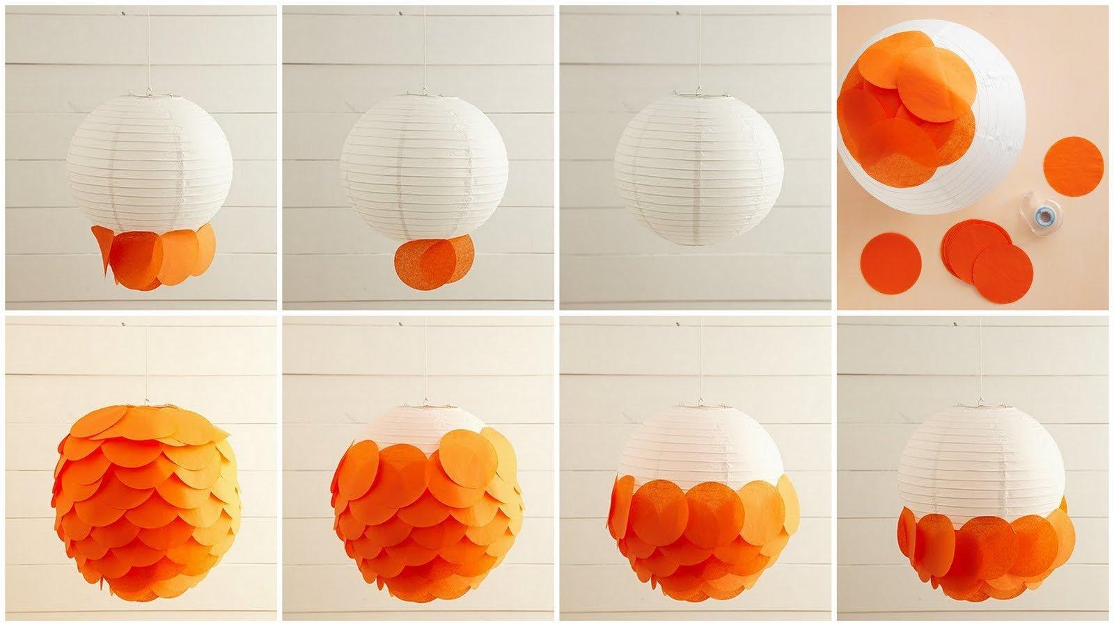 Lampion basteln für Kinder