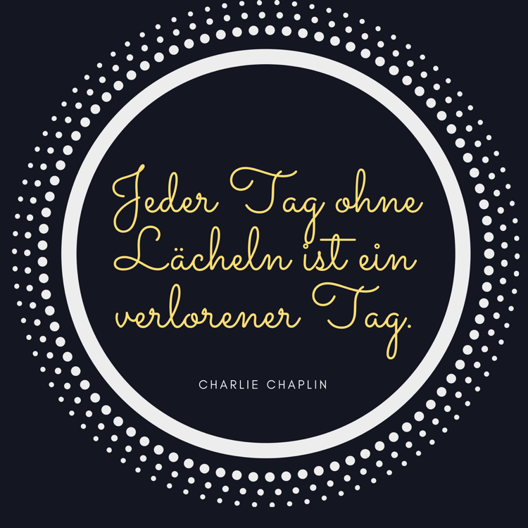 Lebensmotto Sprüche Zitate positiv Charlie Chaplin